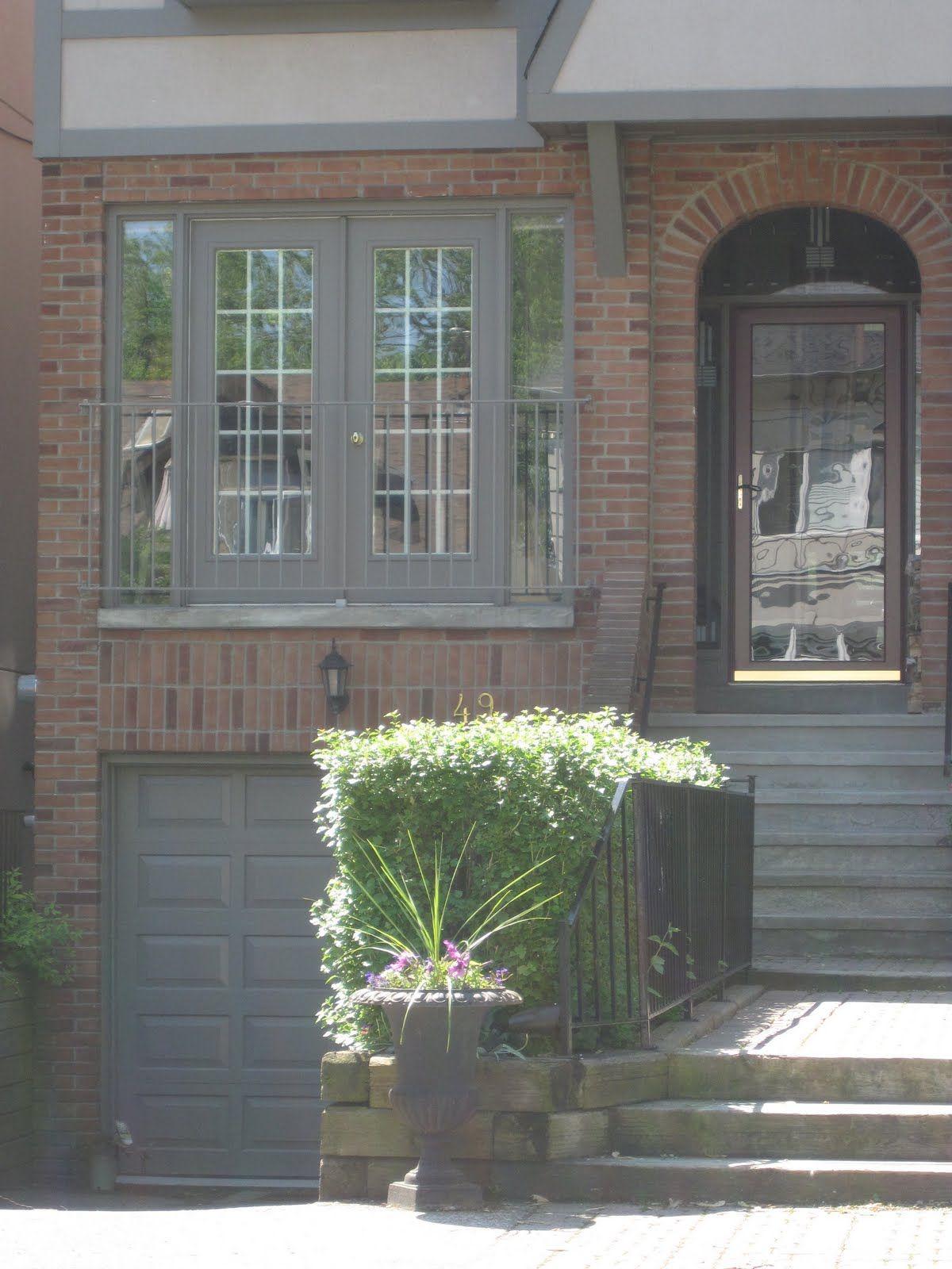The Best Exterior Trim Colours With Brick Not Cloud White Maria Killam The True Colour Expert Exterior Paint Colors For House House Paint Exterior Exterior Brick