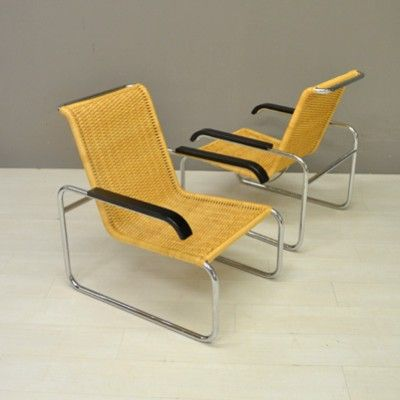 Located using retrostart.com > B35 Lounge Chair by Marcel Breuer for Unknown Manufacturer