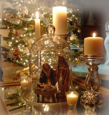 love this! holidays Pinterest Holidays, Christmas decor and Glass