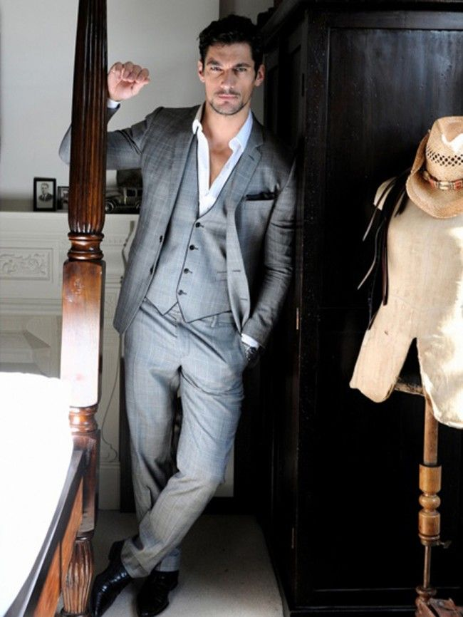 cool groom // he\'s showing a little too much chest for my taste ...