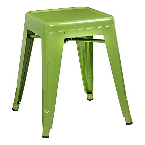 "Norwood Commercial Furniture NOR-IAH3021-GR-SO Tolix Style Metal Industrial Stack Stool, 18"" Height, 12"" Width, 12"" Length, Green (Pack of 2) Norwood Commercial Furniture http://www.amazon.com/dp/B01BHS6XX6/ref=cm_sw_r_pi_dp_O6ibxb0P00C9W"
