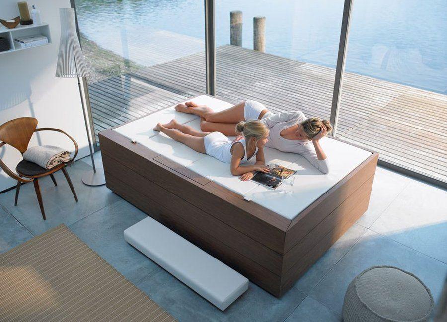 Tono bagno mini piscinas hoteles duravit sundeck - Minipiscinas para terrazas ...