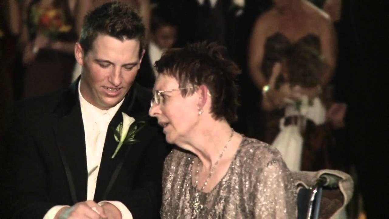 Mother Son Wedding Dance To Mariah Careys Song Hero If This Doesnt Make