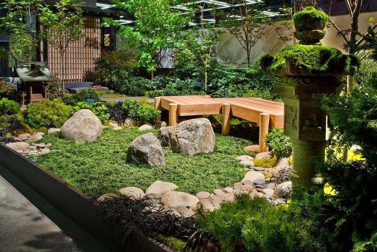 grosse pierre pour d corer son jardin propositions originales jardins pinterest petit. Black Bedroom Furniture Sets. Home Design Ideas