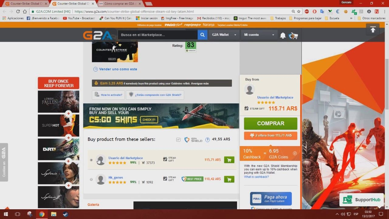 es seguro g2a como comprar en g2a 2017 argentina juegos steam