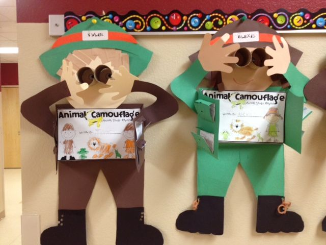 Buzzing About Second Grade Animal Camouflage Reports And