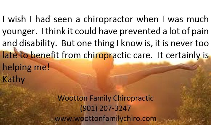 Check out our patient's testimonial and share it with your friends! #nevertolate #chiropractic