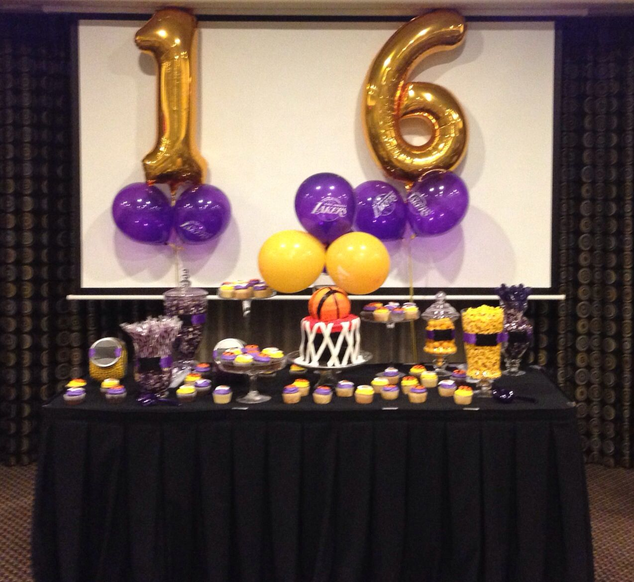 Lakers Party Decorations