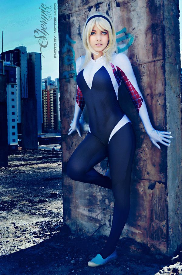 f787d09fac Spider-Gwen by Shermie-Cosplay on DeviantArt