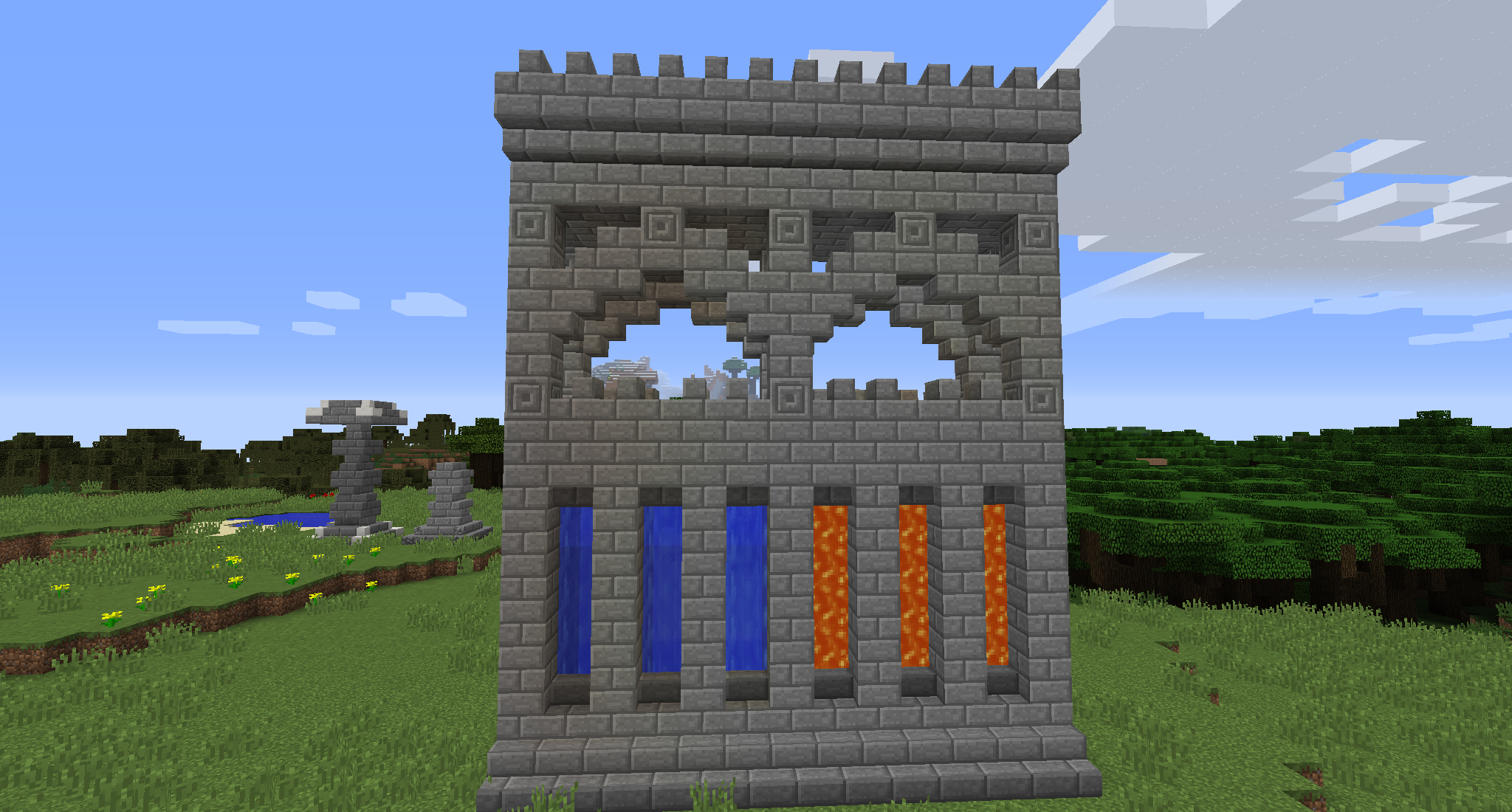 Beautiful Minecraft Tips, Minecraft Blueprints, Minecraft Stuff, Minecraft  Architecture, Minecraft Buildings, Minecraft Castle Walls, Building Ideas,  Block Party, ...
