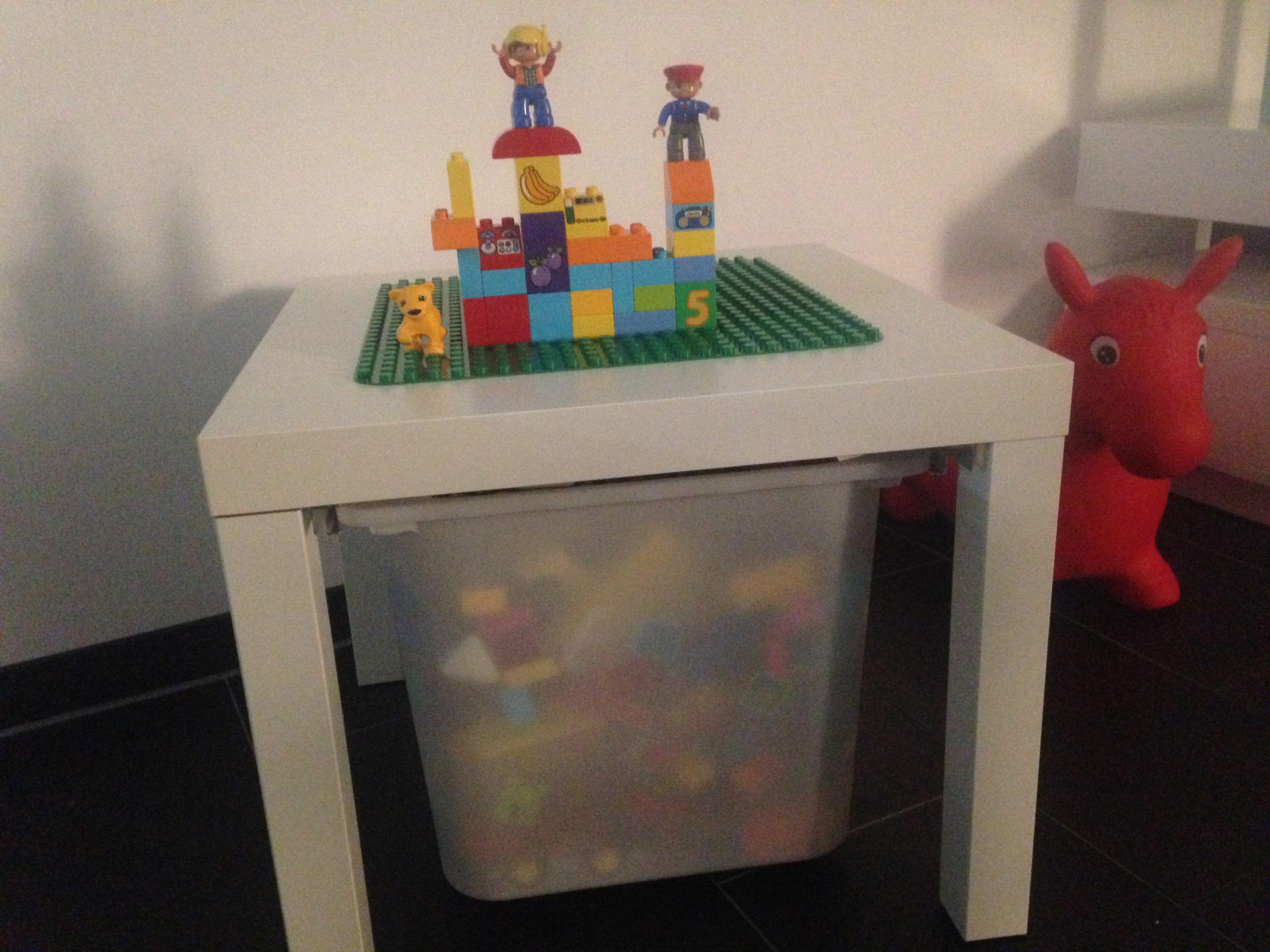 ikea hack lego tisch ich liebe es und super schnell gemacht ideen rund ums haus pinterest. Black Bedroom Furniture Sets. Home Design Ideas