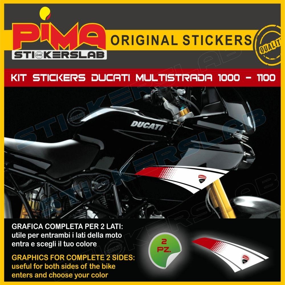 Adesivi Stickers decals compatibili per moto DUCATI