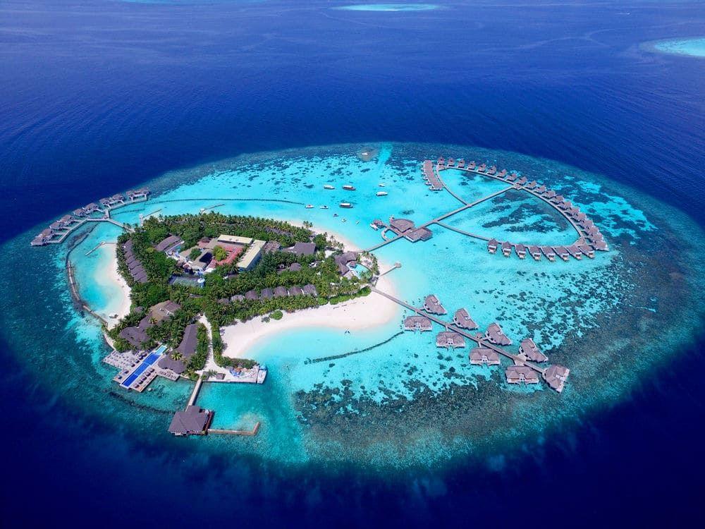 Centara Grand Island Resort Spa Maldives All Inclusive Machchafushi Island Resort Maldives Island Maldives Resort