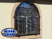 Olson Wrought Iron Security Doors And Security Window Guards