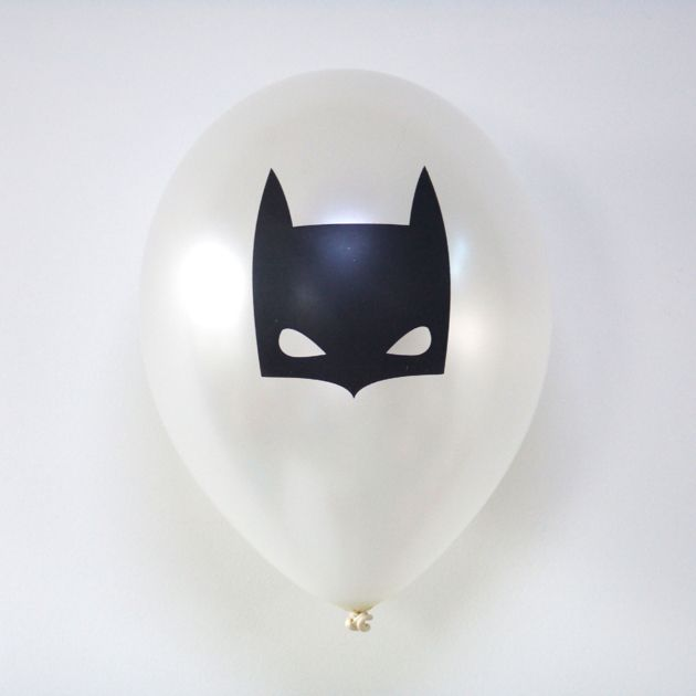 6 ballons de baudruche Batman
