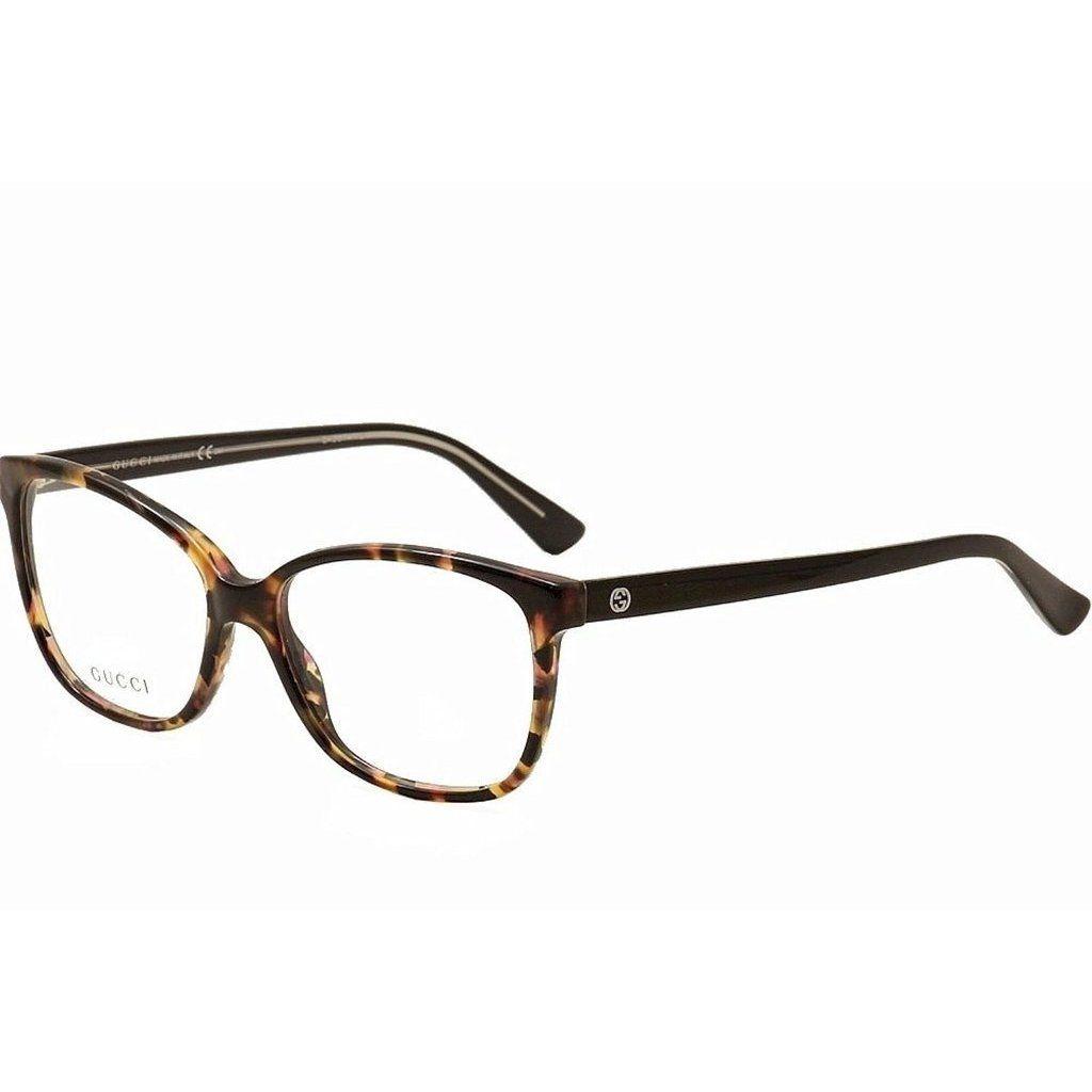 Gucci 3724 0HPA Womens Rectangular Eyeglasses by Gucci | Gucci ...