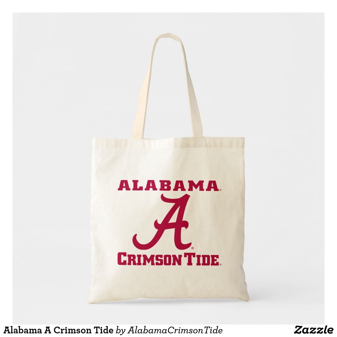 Alabama A Crimson Tide Tote Bag Crimsontide Universityofalabama Alabamafootball Alabamapride