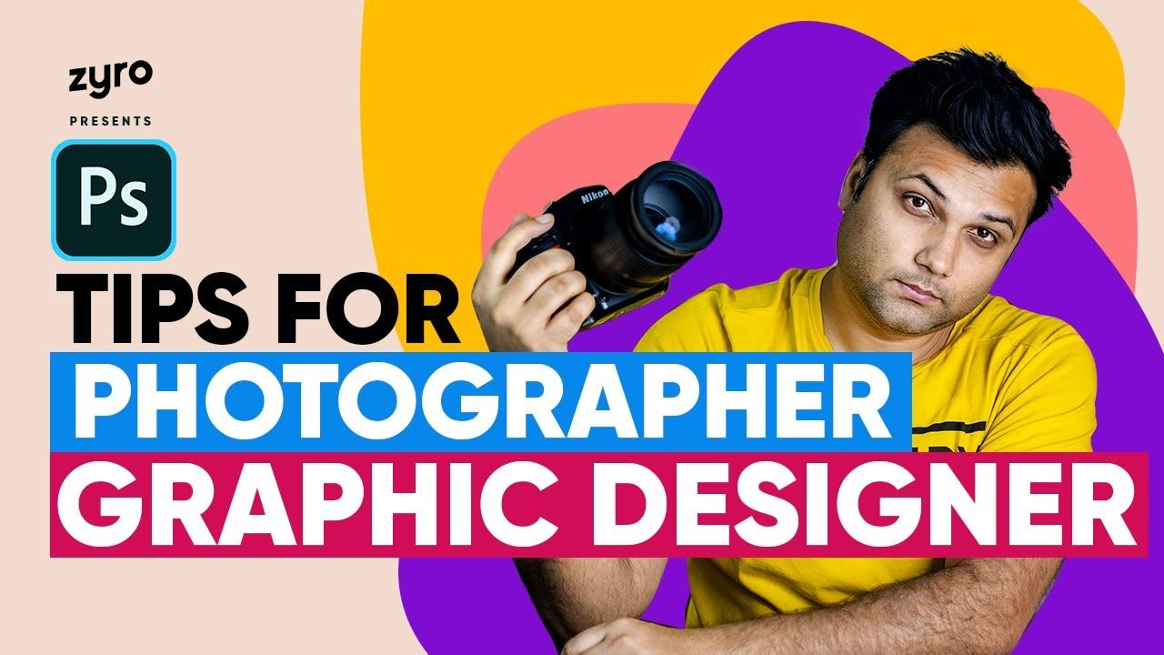 5 tips for photographers graphic designers get