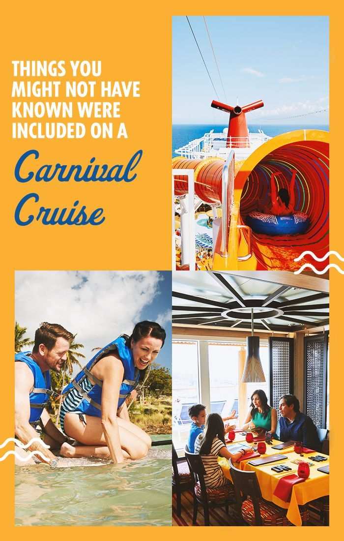 On A Carnival Cruise, Have It All Without Spending It All