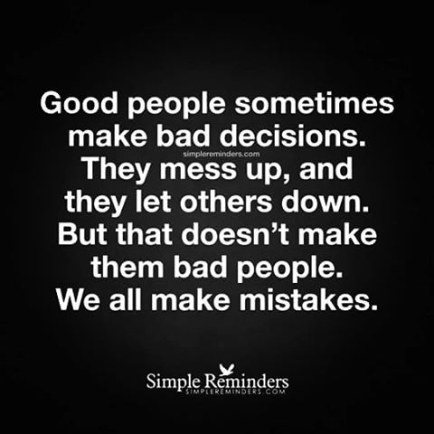 We All Make Mistakes Life Inspiration Motivation Quotes