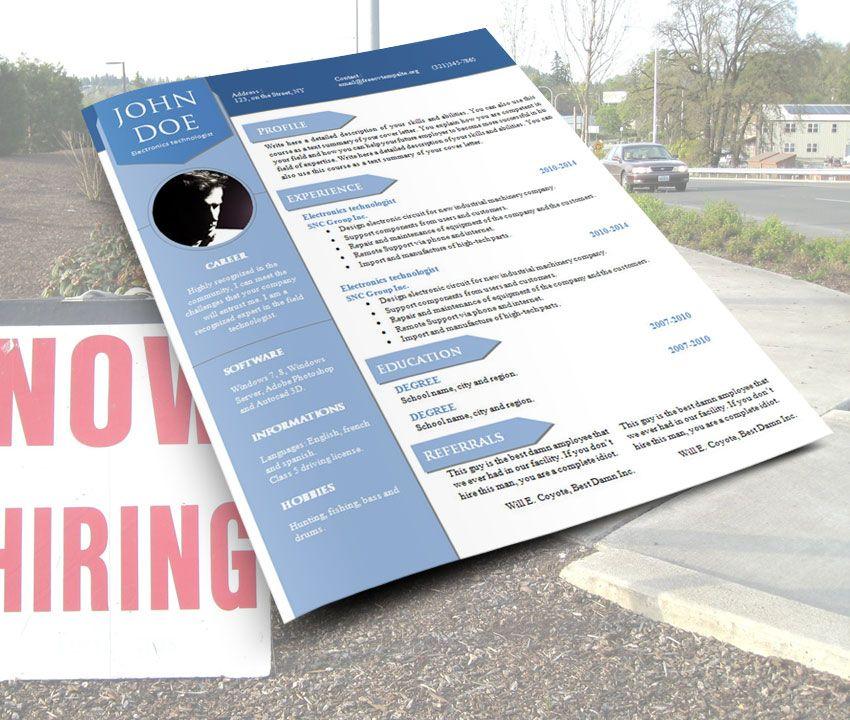 cv resume word template 904 now hiring word template pinterest