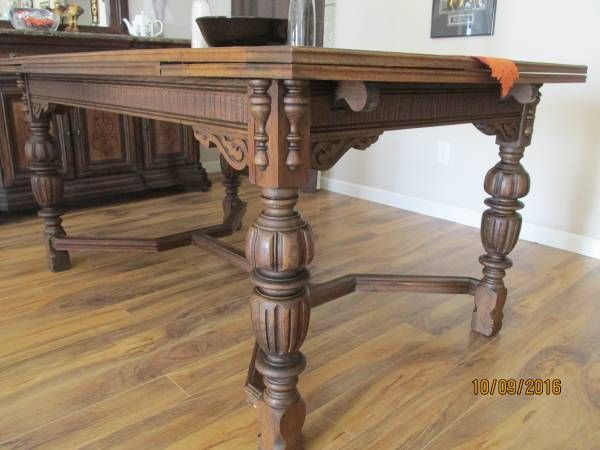 Jacobean Style Dining Table Spanish Decor Dining Furniture Oak