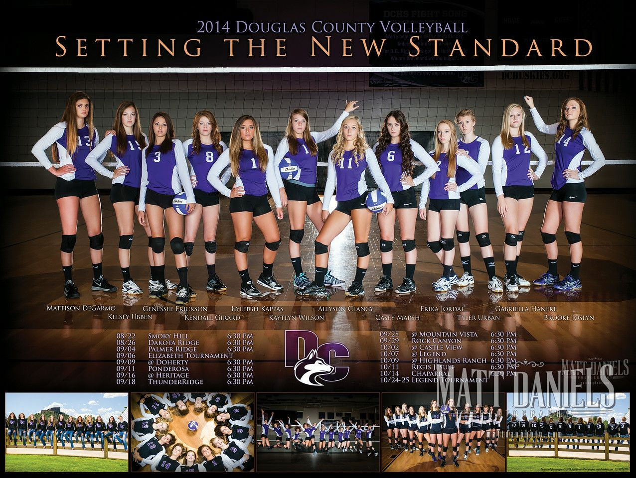2014 Douglas County Volleyball Photography And Poster Copyright 2014 Matt Daniels Photography Volleyball Team Photos Volleyball Photography Volleyball Photos