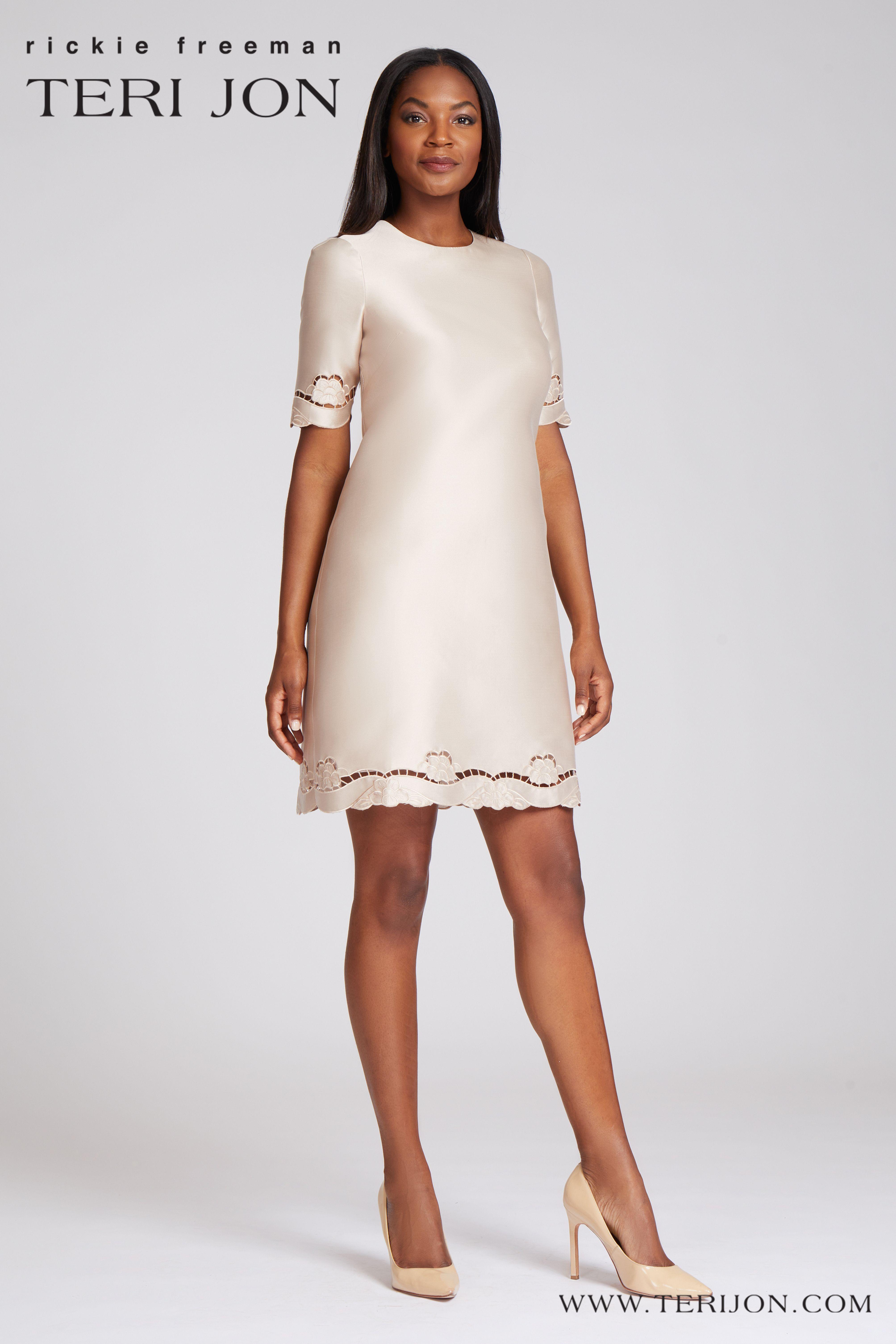 3 4 Sleeves Cocktail Dress In 2021 Dresses Elegant Cocktail Dress Ruffle Sheath Dress [ 6021 x 4014 Pixel ]