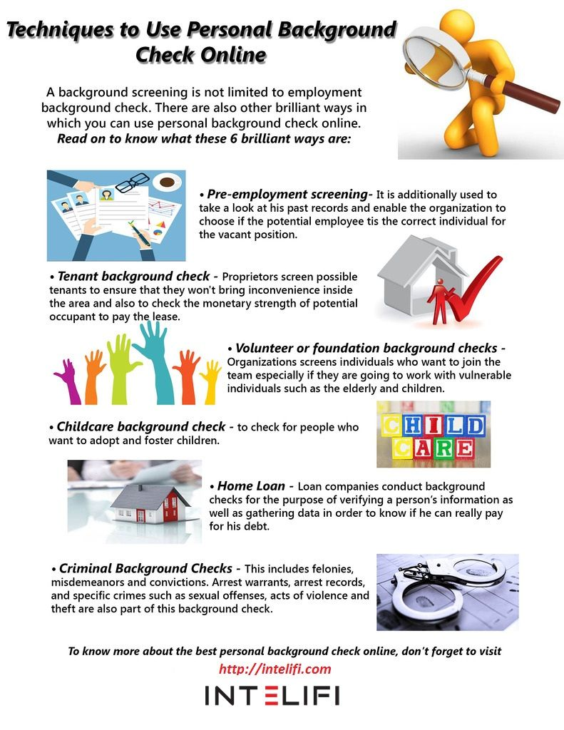 Criminal Background Check For Employment Free