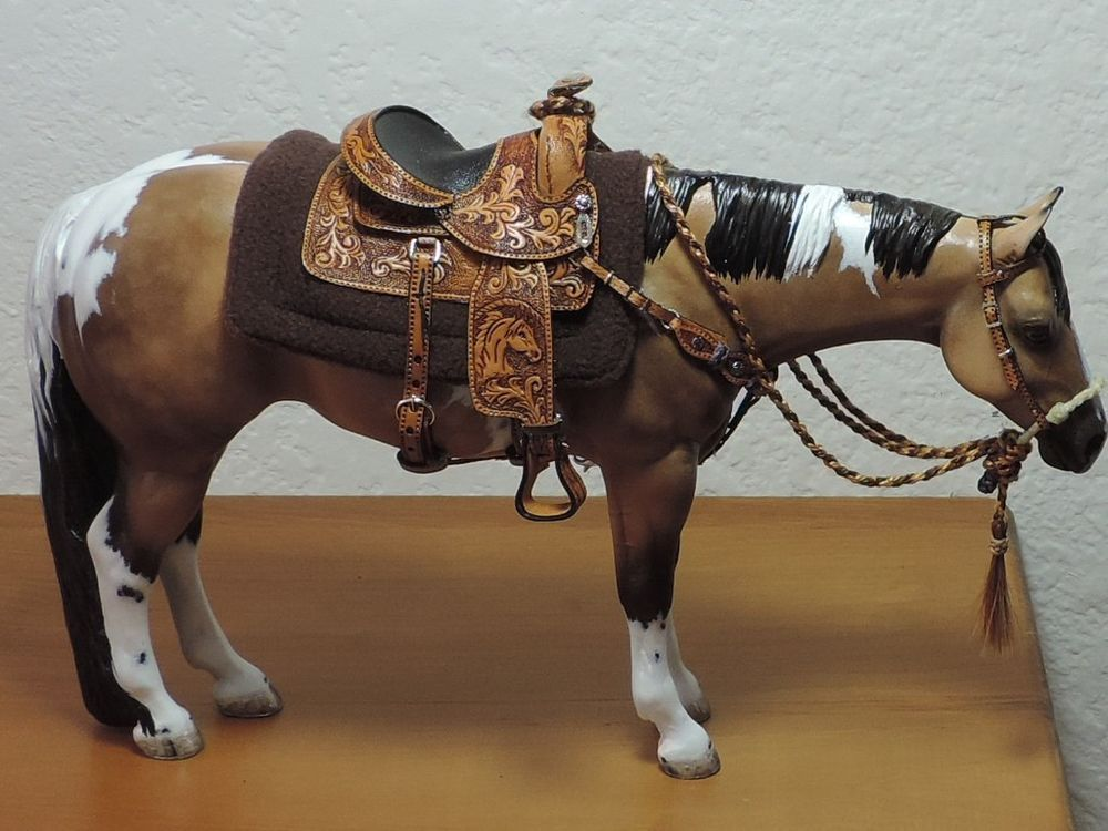 Cm Western Saddle Breyer Peter Stone Horses Breyer Horses Bryer Horses