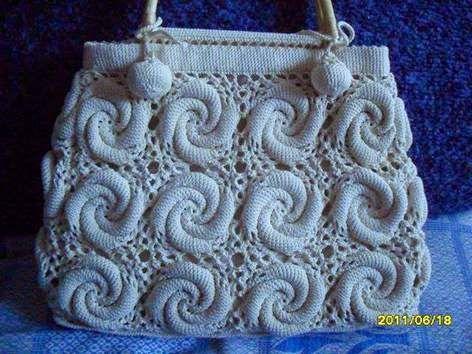 Häkelmuster Fundgrube: Tasche aus Spiral-Grannies | crochet ...