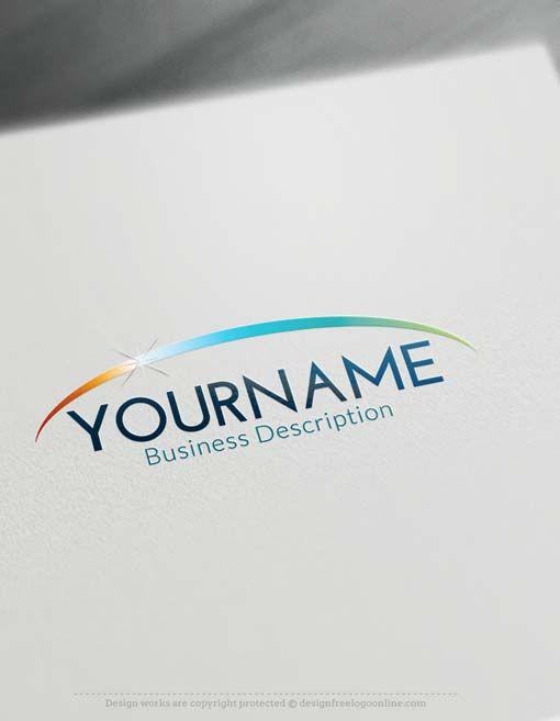 Create online Horizon Path Logo with Free Logo Creator Free logo - work schedule creator free