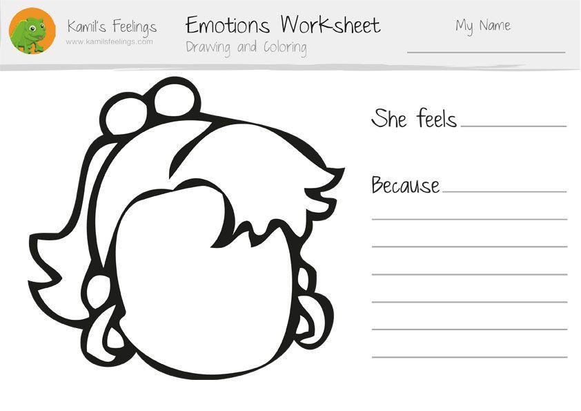 Emotions Worksheets for Children | emotional EDUCATION | Pinterest ...
