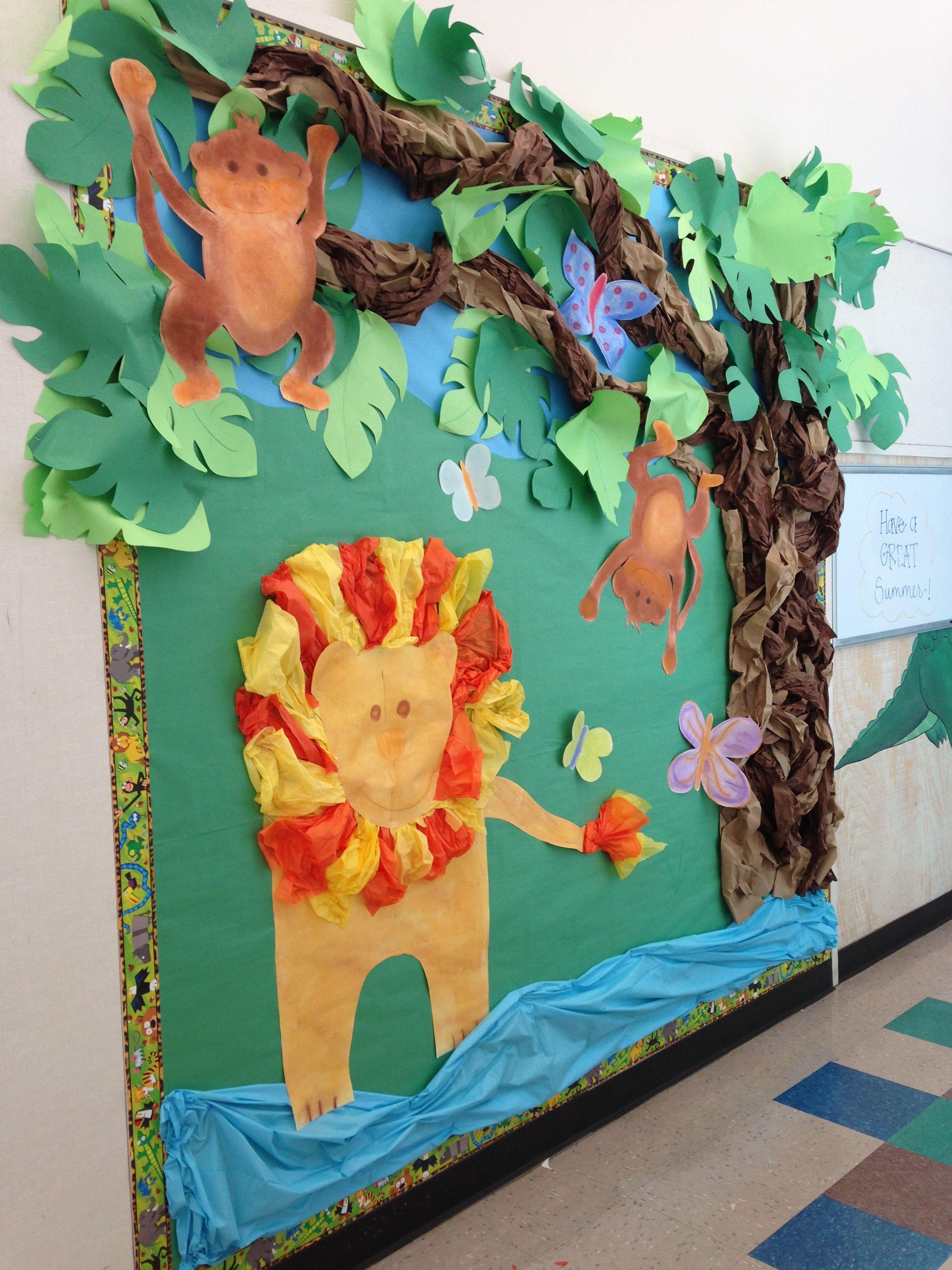 Jungle Theme Board