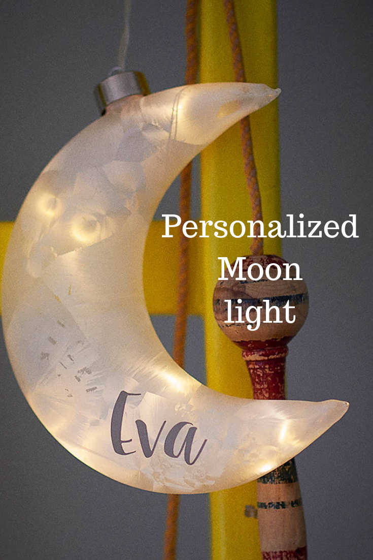 A Fabulous Crescent Moon Shaped Light To Hang In Your Home Great For A Little Girl S Room Or Nursery Kids Affili Moon Shape Light Moon Pendant Light Light