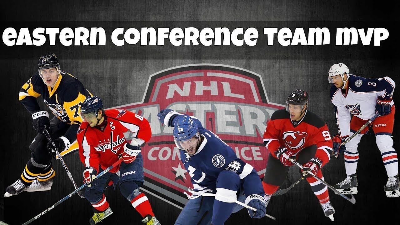 Mvp On Each Nhl Team 2017 2018 Season Eastern Conference Eastern Conference Nhl Mvp