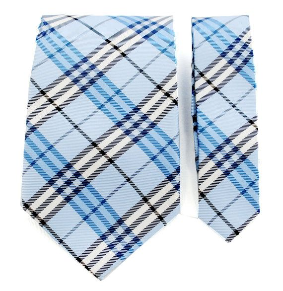 The Southwestern OSU scheme, nice - Blue plaid ties | Mens ...