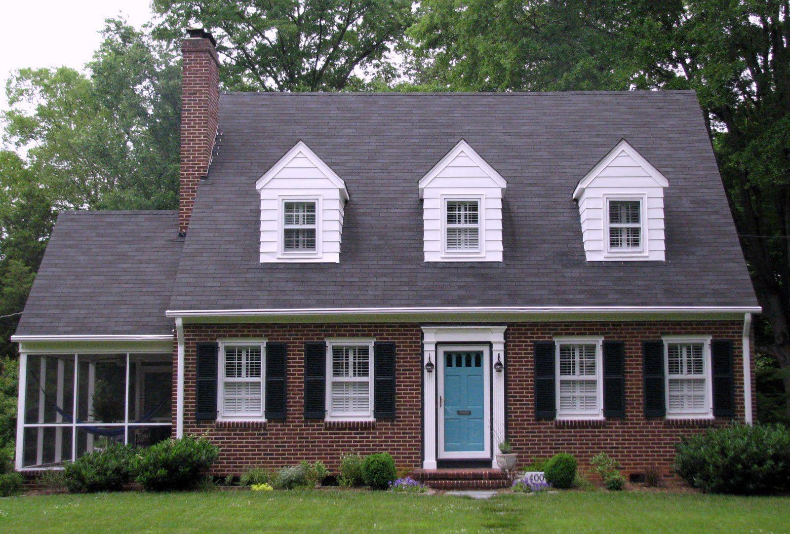 Image result for grey house with brick door colors | Door Colors ...