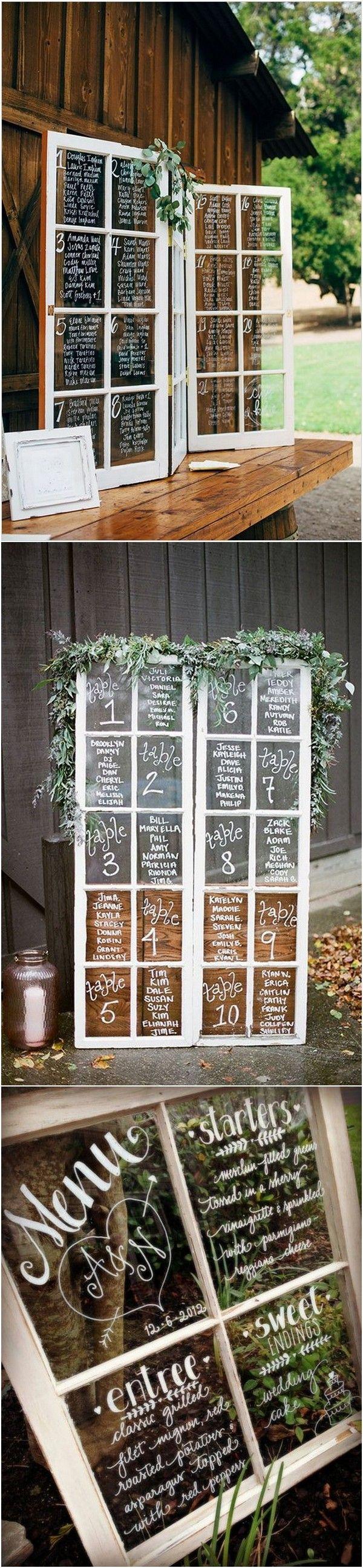 diy wedding decoration ideas with vintage windows page of