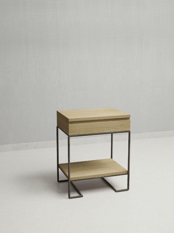 MESA DE LUZ TILO, Dormitorio – OliviaD.com.ar | wood & metal ...