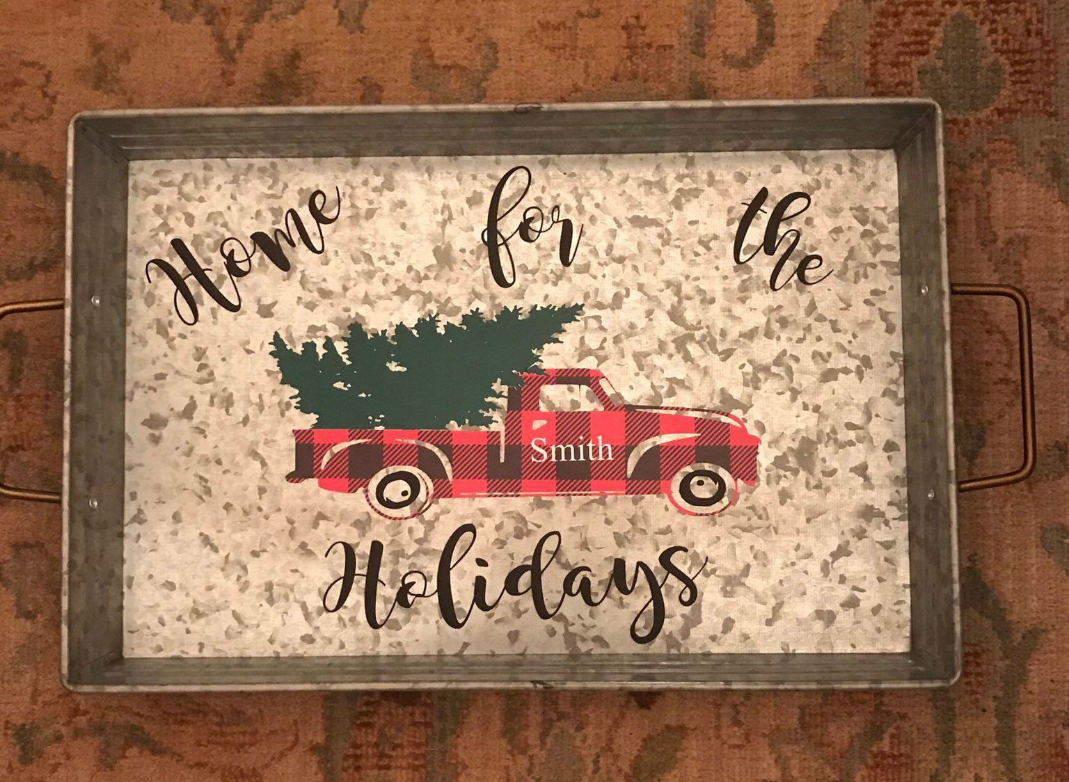49++ Red truck serving tray ideas