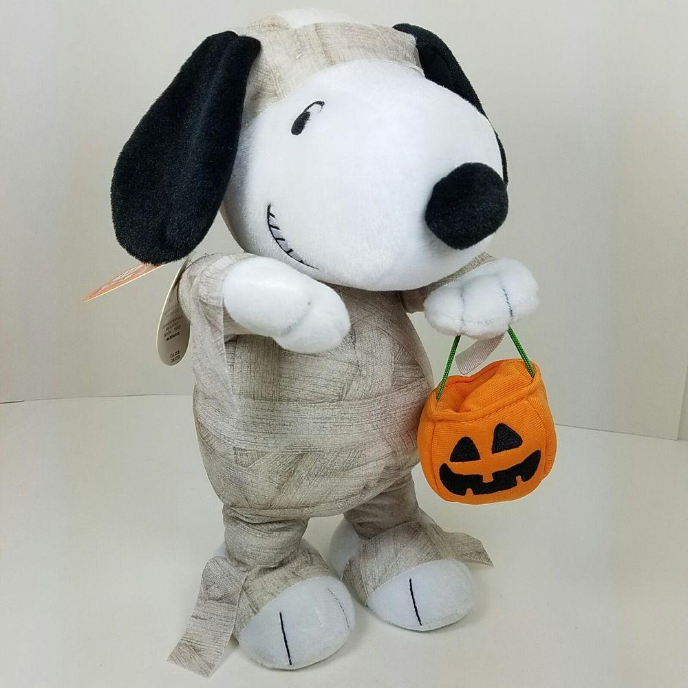 *PEANUTS stuffed badge Snoopy