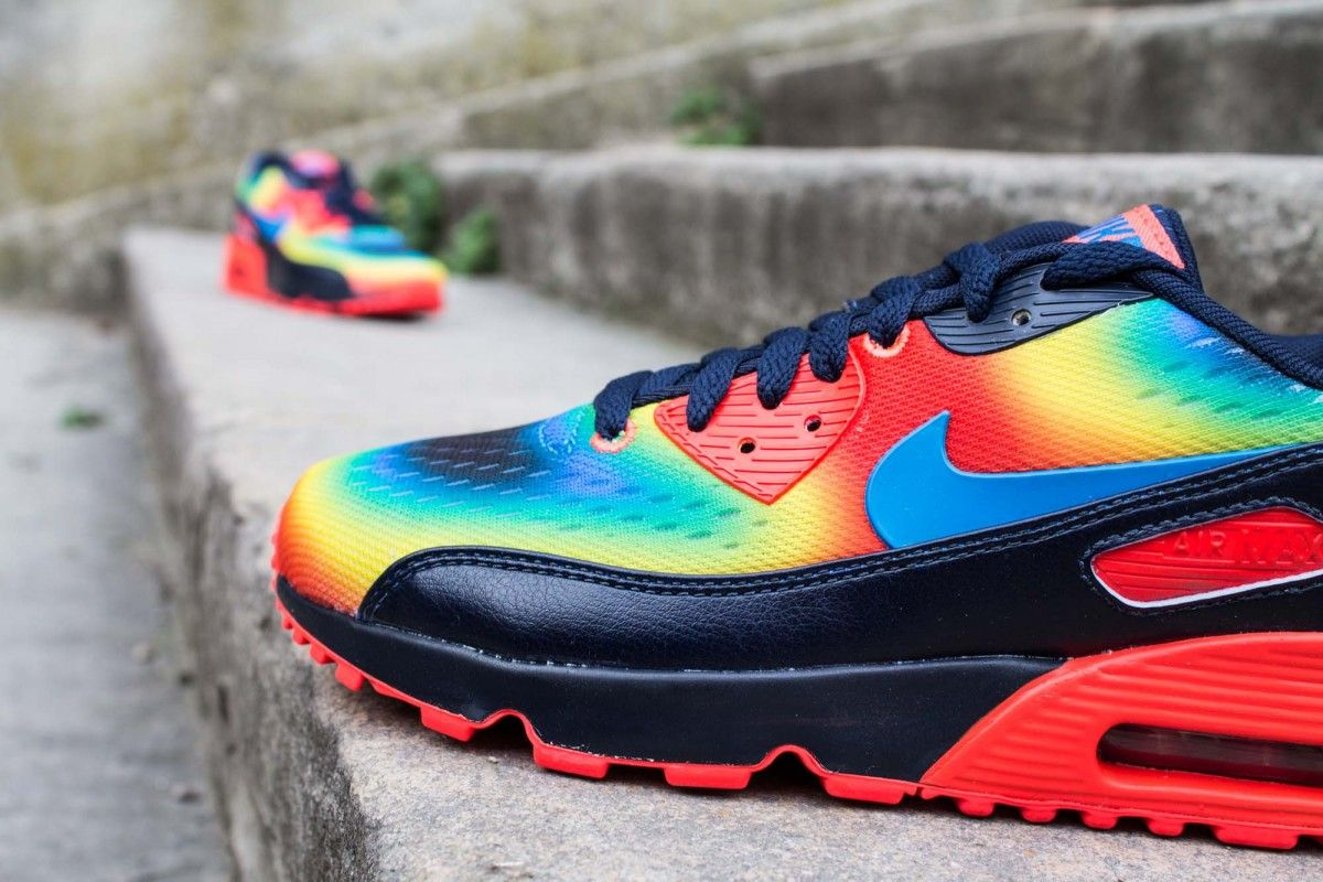 on sale d6df6 d1dbf ... nike air max 90 qs gs heat map pack cornerstreet.fr ...