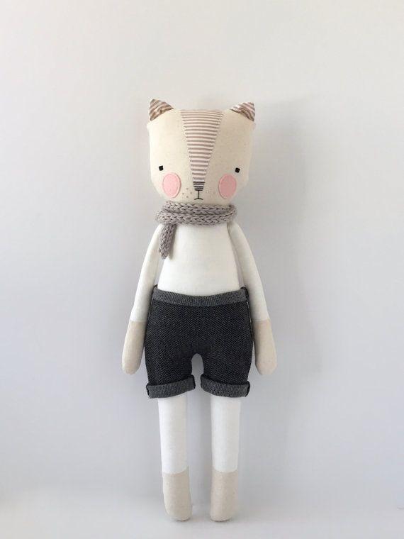 luckyjuju kitty boy  STANDING style by luckyjuju on Etsy
