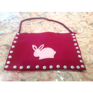 Hand Made Felt Easter Bag