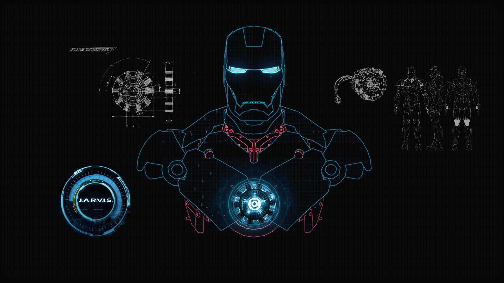 Iron Man 4k Wallpaper Unique Iron Man Jarvis Desktop Wallpapers