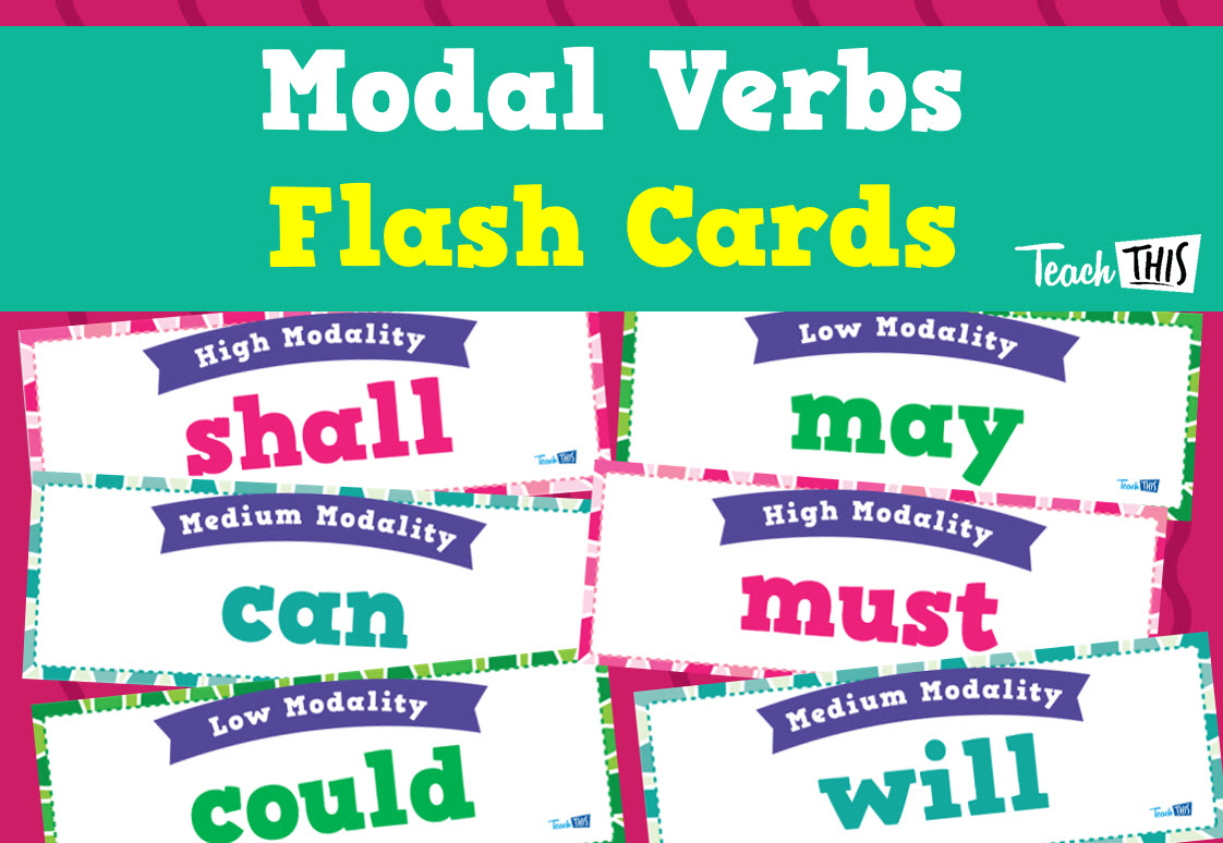 Modal Verbs Flashcards | Grammar | Pinterest