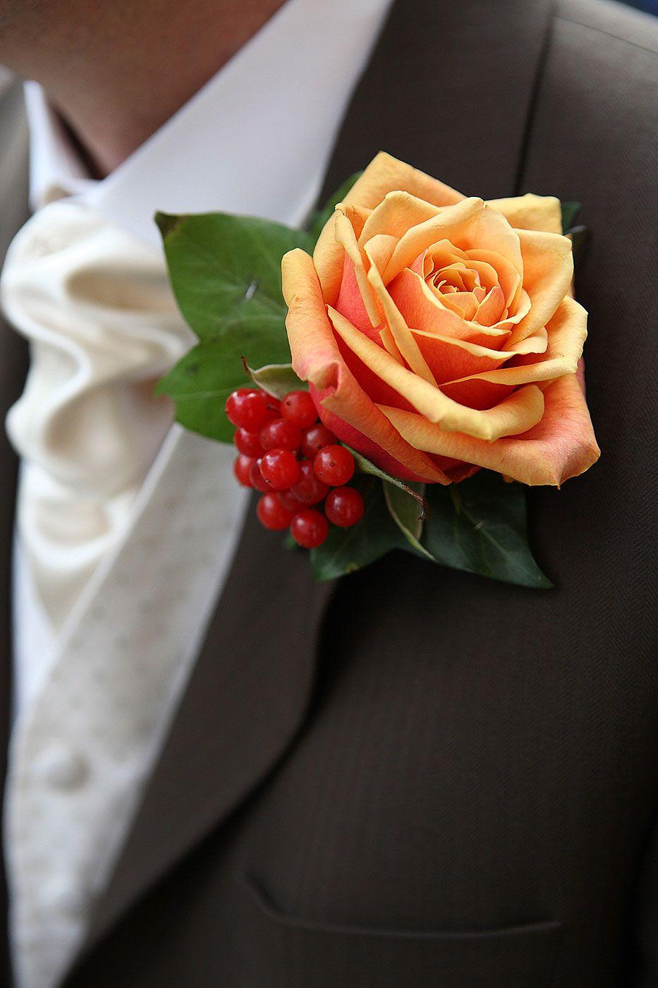 Autumn Buttonhole