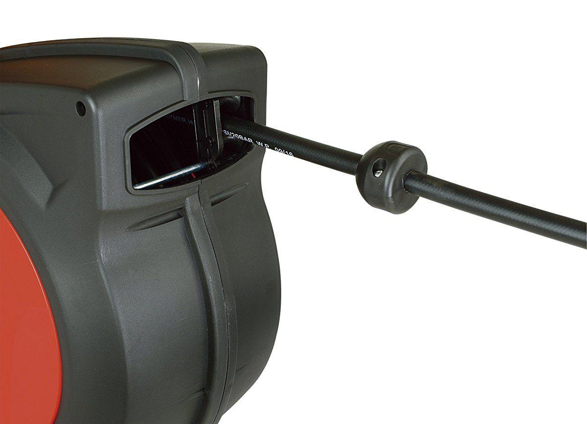 "ReelWorks  Hybrid Polymer Flexible Air Compressor Hose 3//8/"" x 50/'"