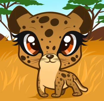 How To Draw A Cheetah For Kids Cheetah Drawing Cute Drawings Drawings
